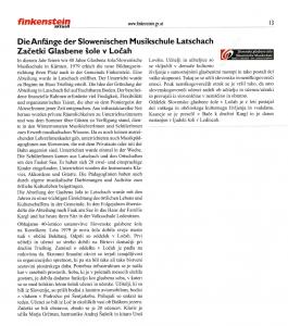 Občinski list Bekštanj-Gemeindezeitung Finkenstein